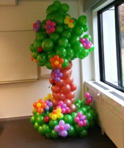 Ballondecoratie boom