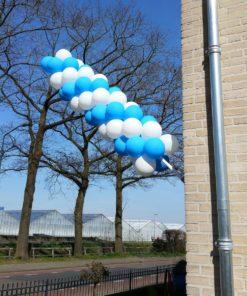 ballonnen vlaggenstok