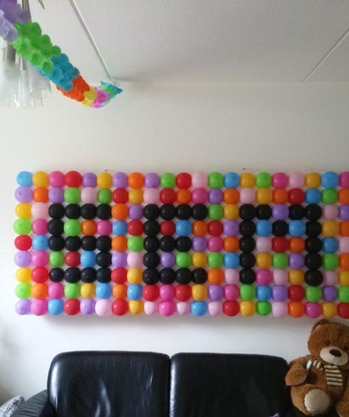 ballonnen wand