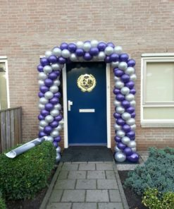 Ballonnenboog voordeur