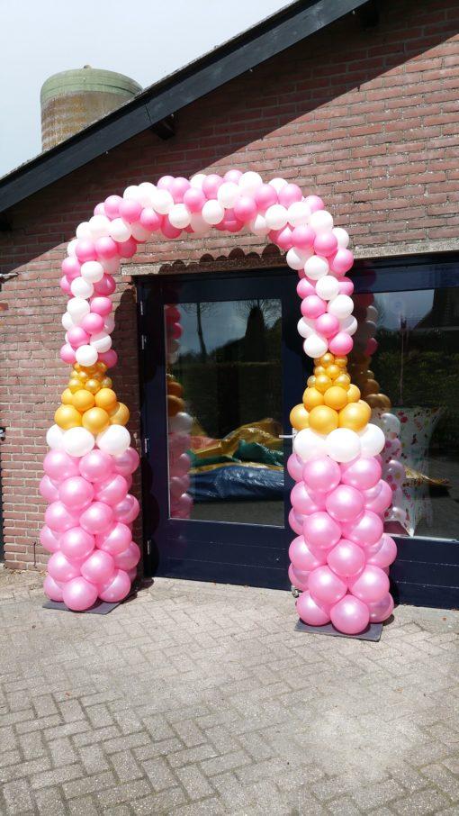 Ballonnenboog kraamfeest