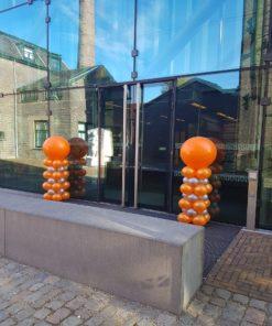 blokpilaar met topballon