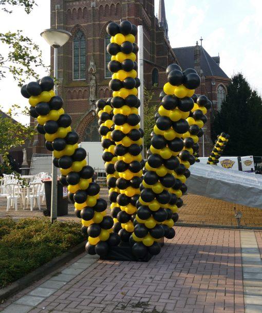 Grote ballondecoratie dancing balloon