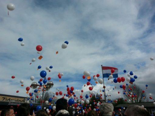 Ballonnen wedstrijd
