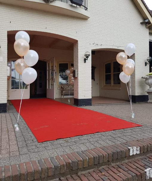 Bruiloft ballon decoratie
