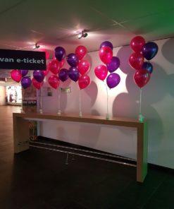 Tafeldecoratie, 5 ballonnen