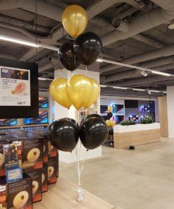 vloerdecoratie 10 ballonnen