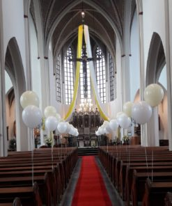 Ballondecoraties communie