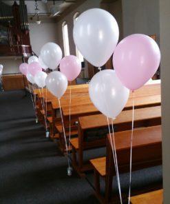 Vloerdecoratie, 3 ballonnen