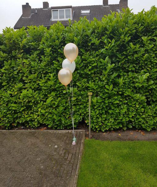 bruiloft ballon aankleding