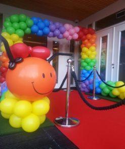 Ballonnenboog rups