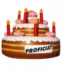 opblaasbare taart