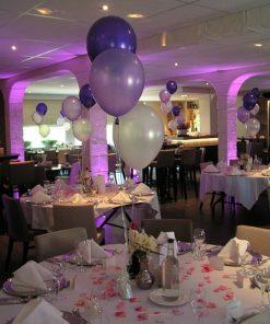 Tafeldecoratie, 3 ballonnen