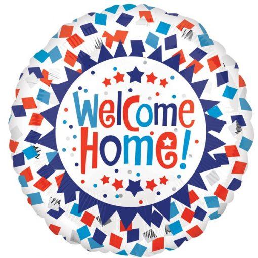 Folie ballon welcome home!