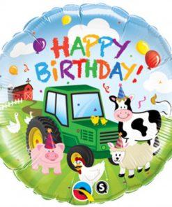 Folie ballon boerderij verjaardag