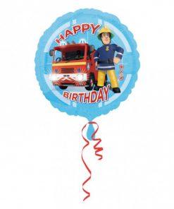 Folie ballon Brandweerman sam