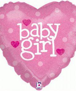 Folie ballon Baby girl
