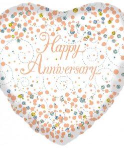 Folie ballon happy anniversary