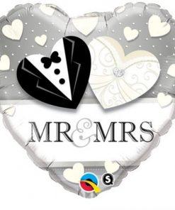 Folie ballon Mr & Mrs