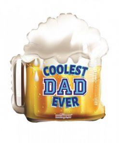 Folie ballon Coolest Dad ever