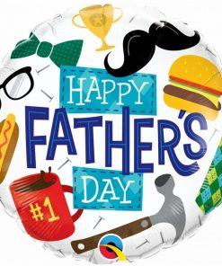 Folie ballon Happy Fathers Day