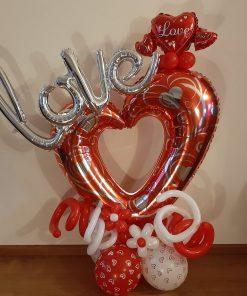 Ballonboeket LOVE