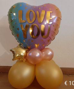 Ballonboeket Star