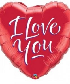 Folie ballon Love Rood