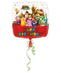 Folie ballon Super Mario