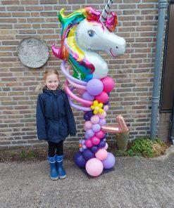 Ballonpilaar unicorn