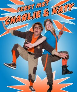 Kindershow Feest met Charlie & Katy