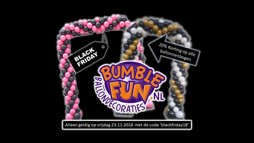 black friday ballonnenbogen actie