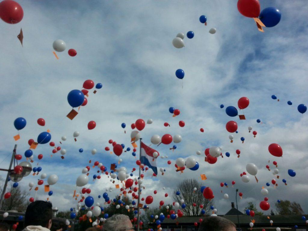 Koningsdag ballon decoratie