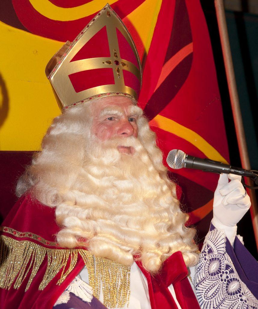 Sinterklaas op bedrijf