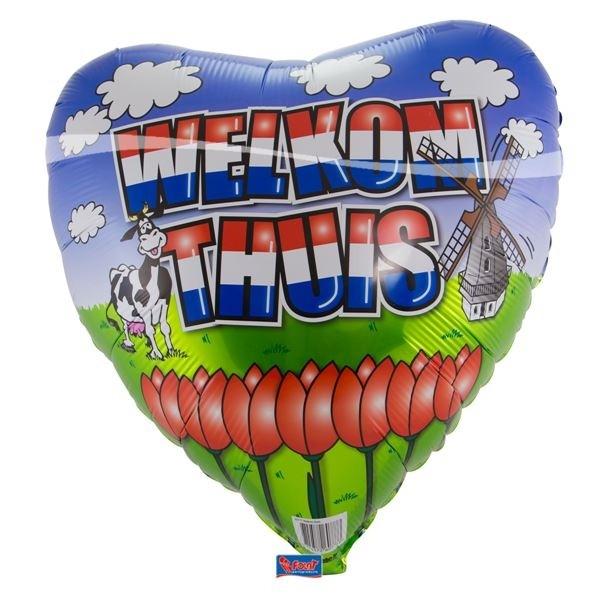 Folie ballon welkom thuis